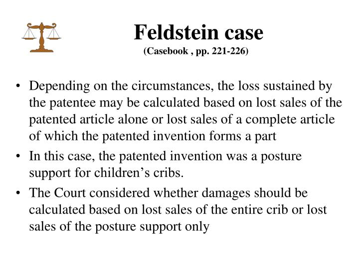 Feldstein case
