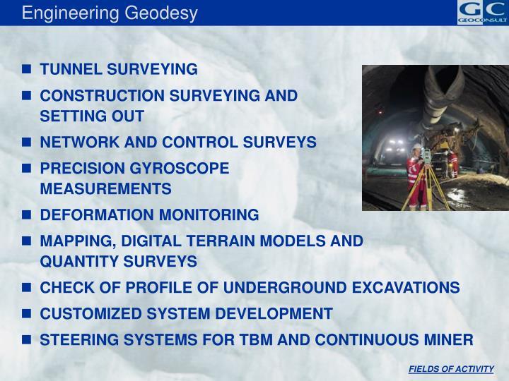 Engineering Geodesy