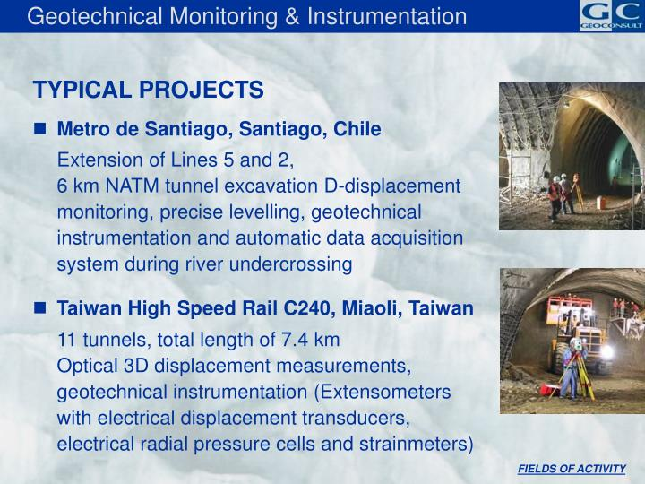 Geotechnical Monitoring & Instrumentation