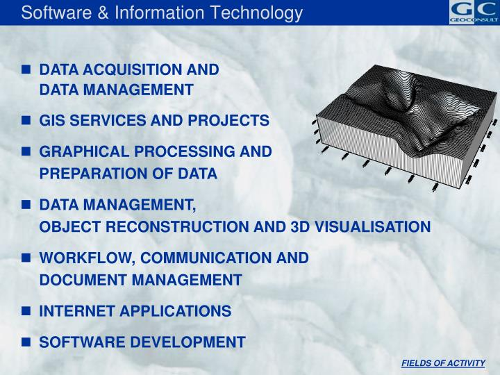 Software & Information Technology
