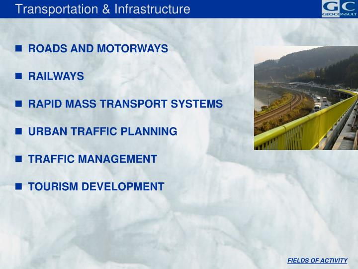 Transportation & Infrastructure