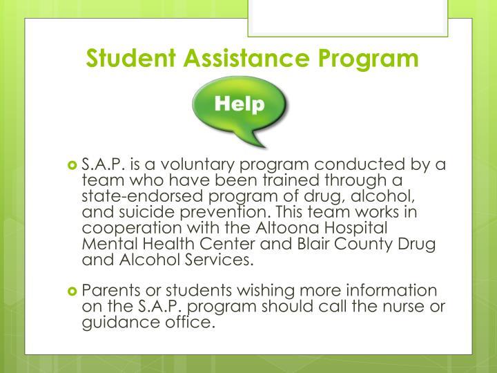 Student Assistance Program
