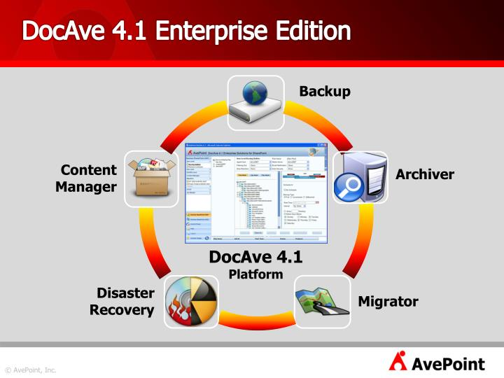 DocAve 4.1 Enterprise Edition