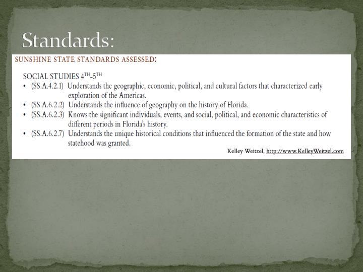 Standards: