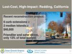 lost cost high impact redding california