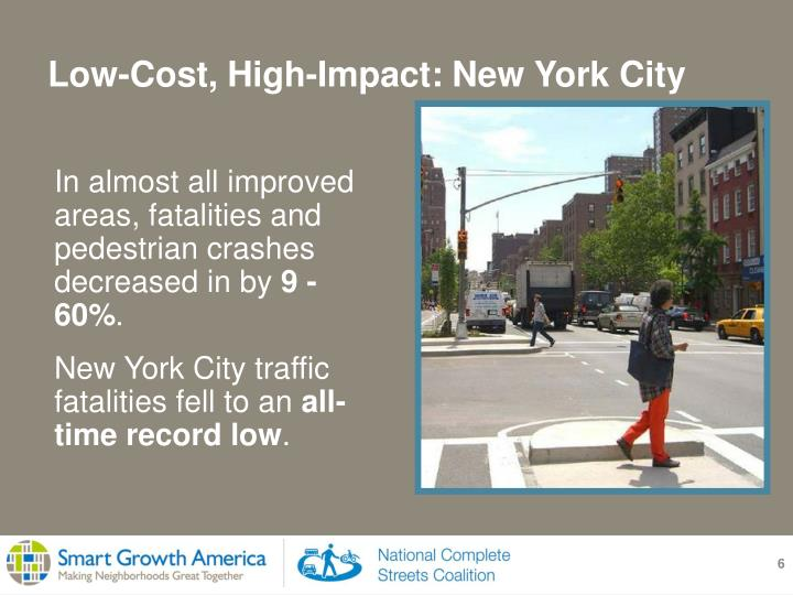 Low-Cost, High-Impact: New York City