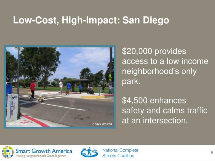 $20,000 provides access to a low income neighborhood's only park.