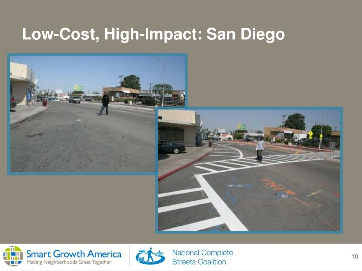 Low-Cost, High-Impact: San Diego