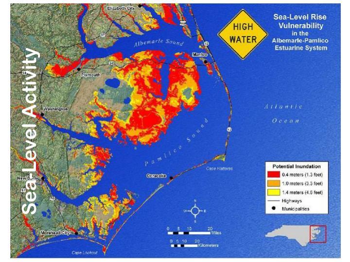 Sea-Level Activity