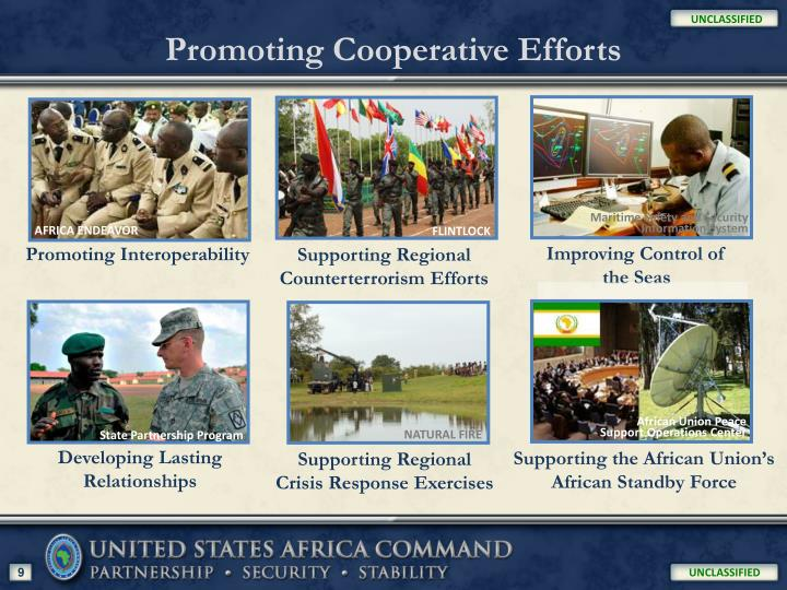 Promoting Cooperative Efforts