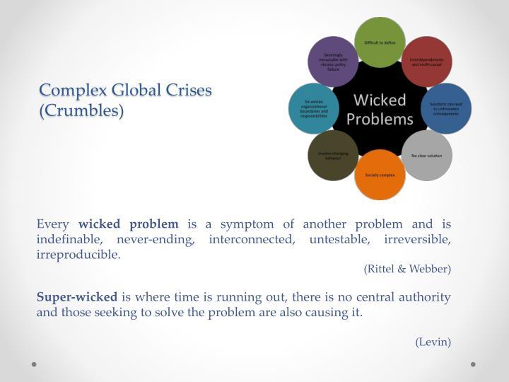 Complex Global Crises