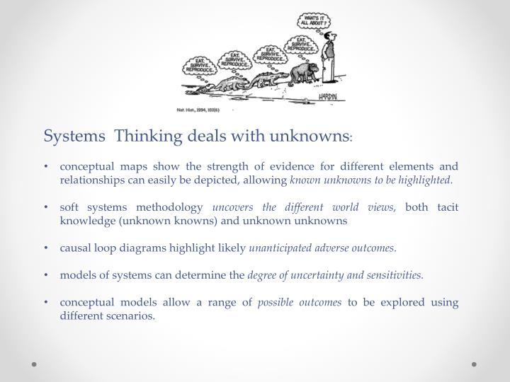 Systems  Thinking deals