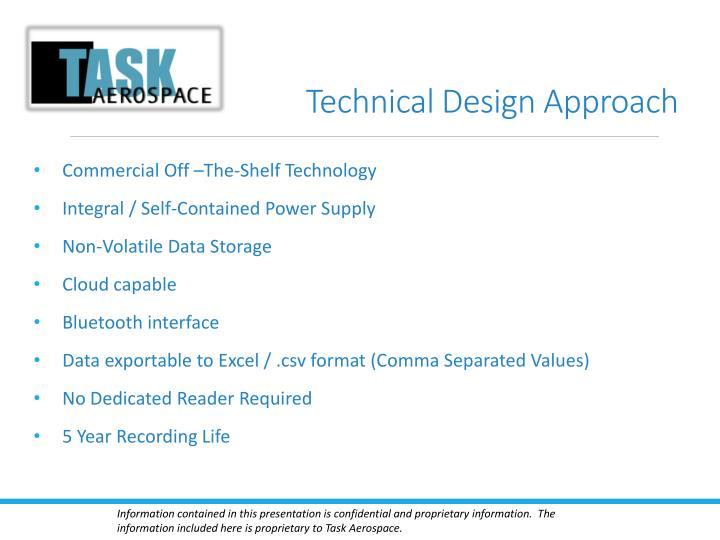 Technical Design Approach
