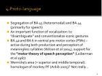 4 proto language
