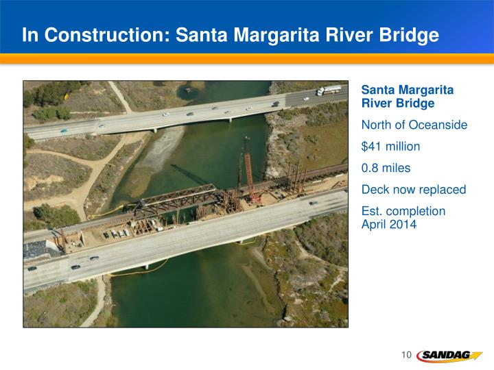 In Construction: Santa Margarita River Bridge