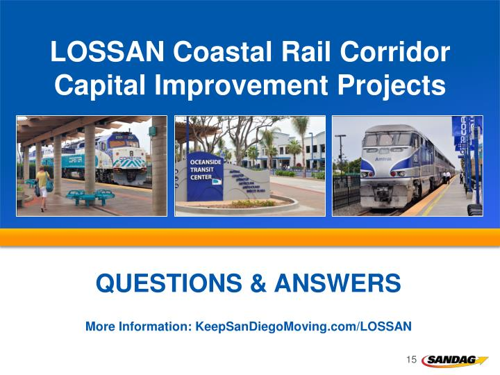 LOSSAN Coastal Rail