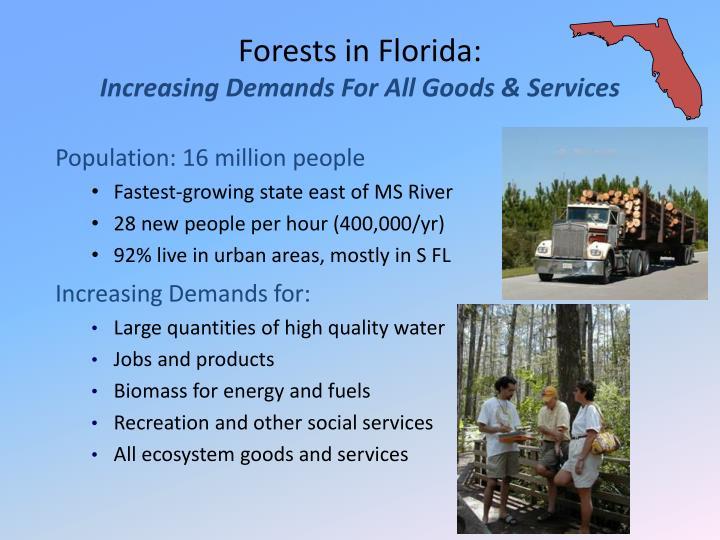 Increasing Demands for: