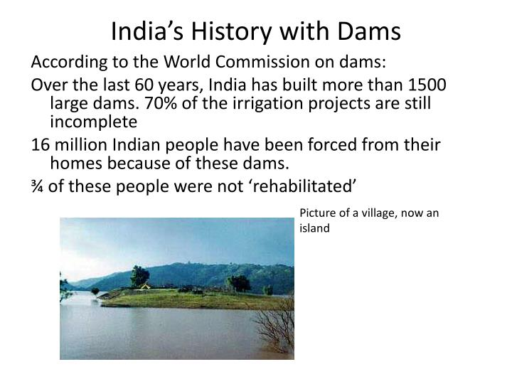 India's History with Dams