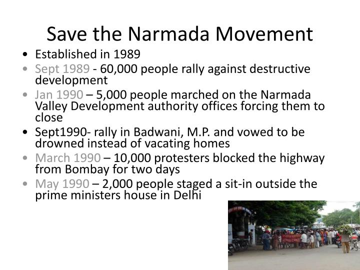 Save the Narmada Movement