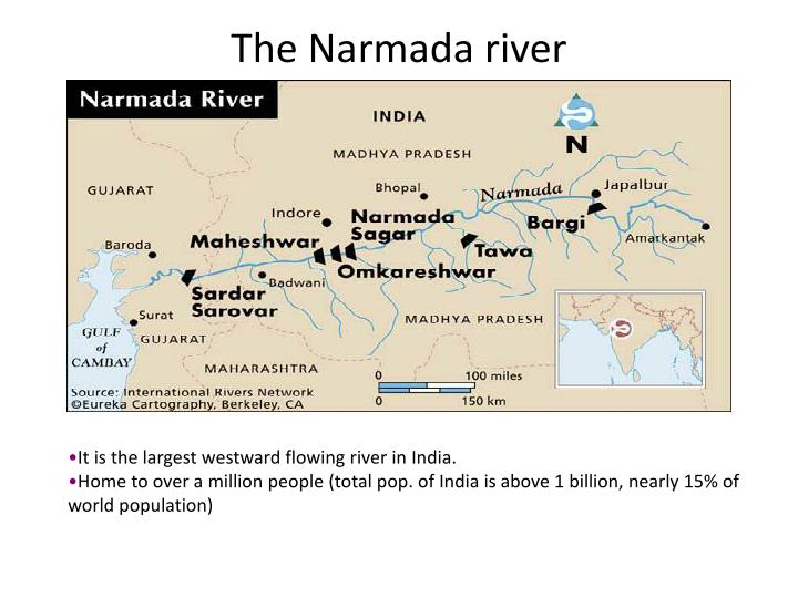 The Narmada river