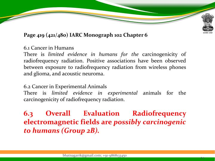 Page 419 (421/480) IARC Monograph 102 Chapter 6