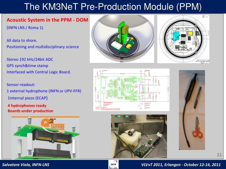 The KM3NeT