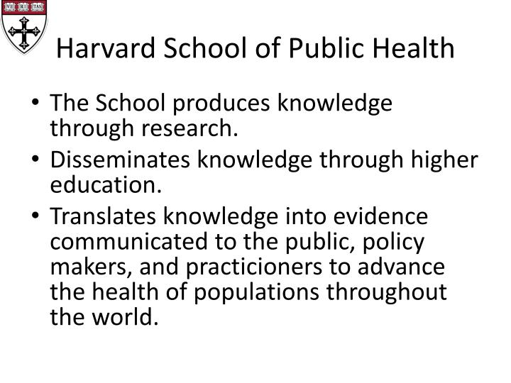 harvard school of public health opencourseware