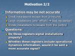 motivation 2 2