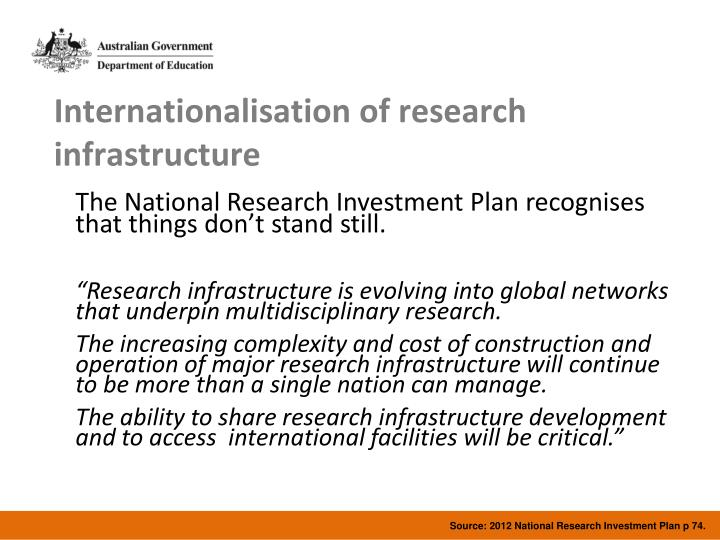 Source: 2012 National Research Investment Plan p 74.