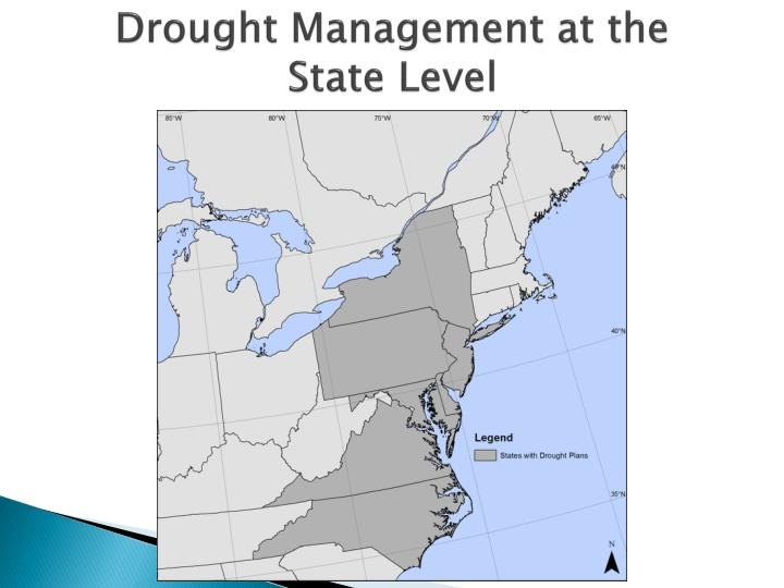 Drought management at the state level