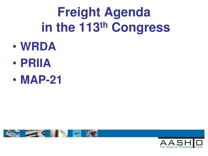 Freight Agenda