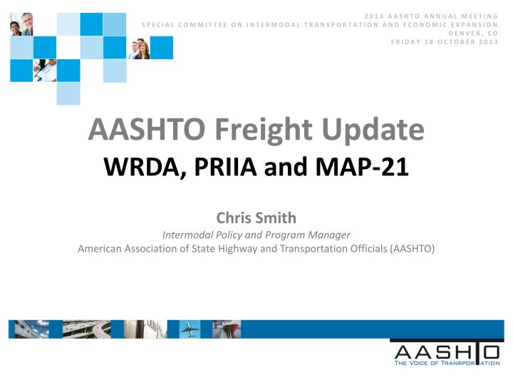 2013 AASHTO ANNUAL MEETING