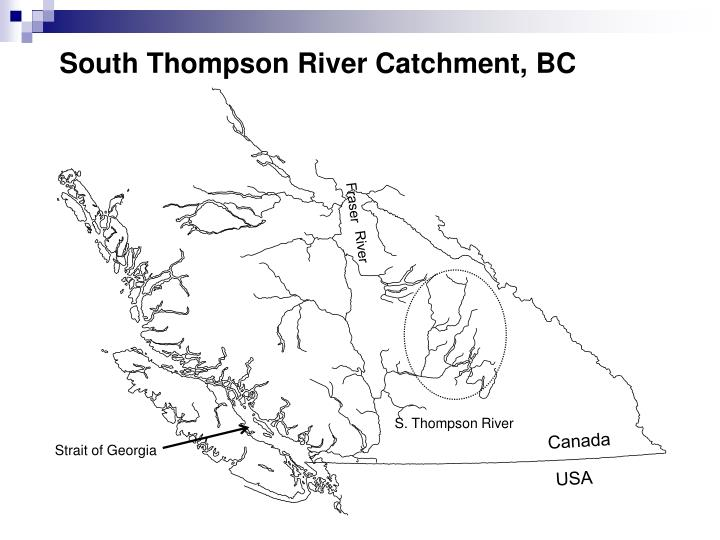 South Thompson River Catchment, BC