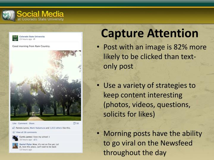 Capture Attention