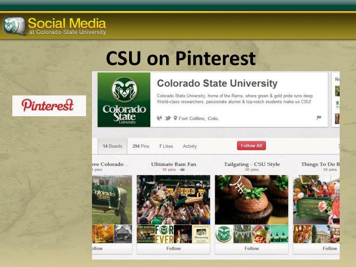 CSU on
