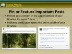 pin or feature important posts