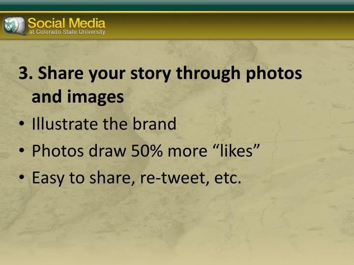 3. Share