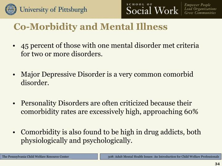 Co-Morbidity and Mental Illness