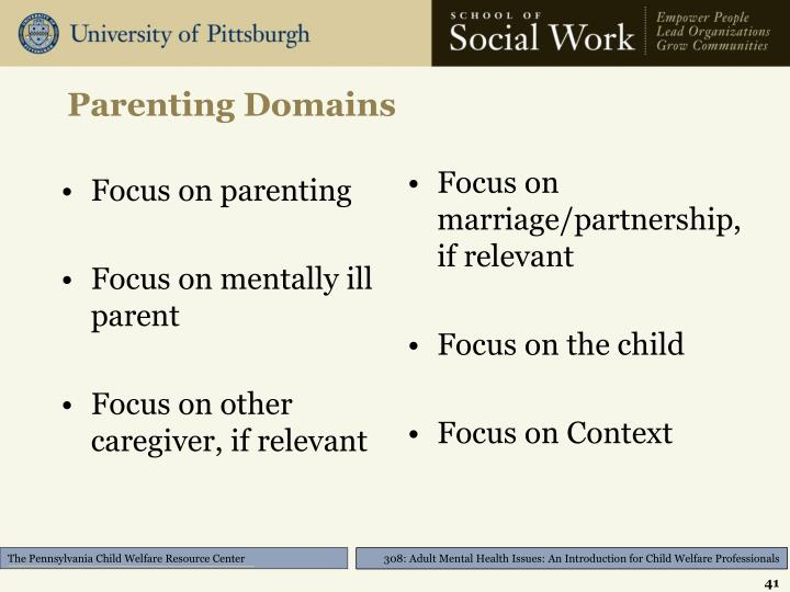Parenting Domains