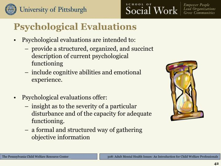 Psychological Evaluations