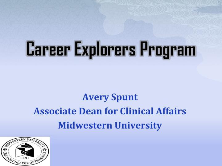 Career Explorers Program
