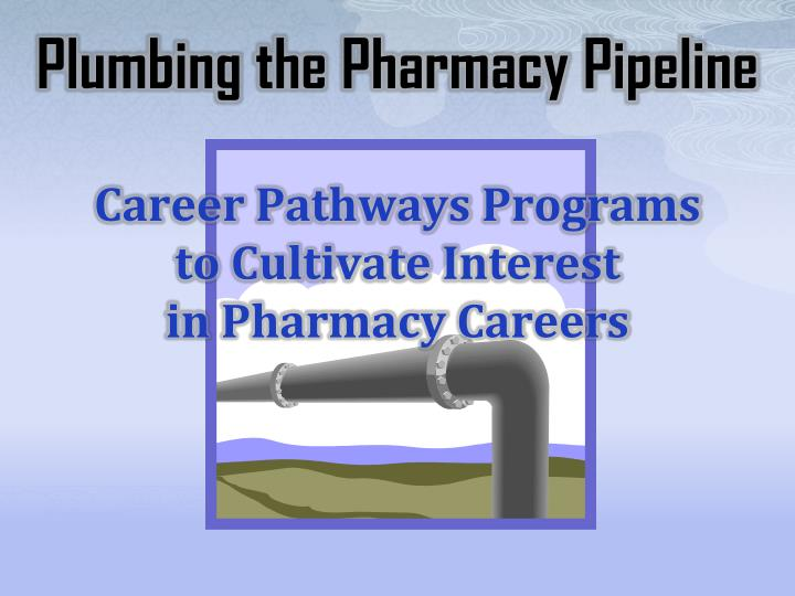 Plumbing the pharmacy pipeline career pathways programs to cultivate interest in pharmacy careers