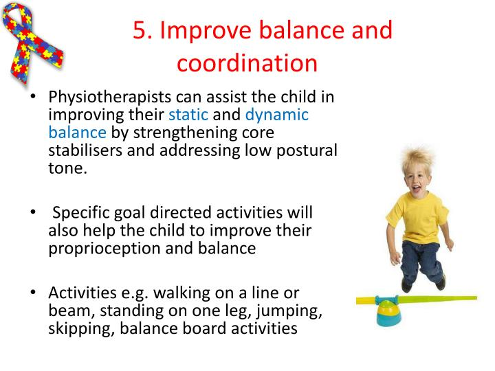 5. Improve balance and coordination