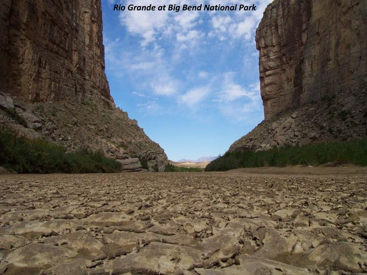 Rio Grande at Big Bend National Park