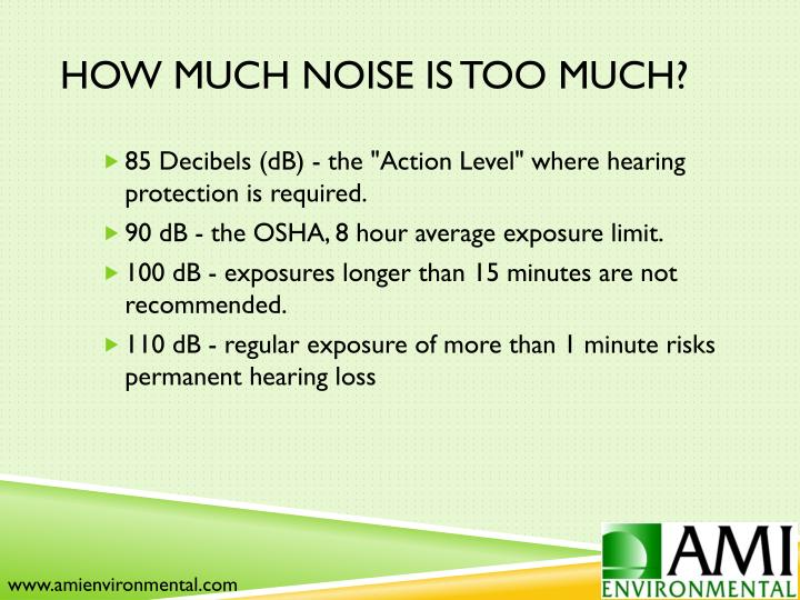 How Much Noise is Too Much?