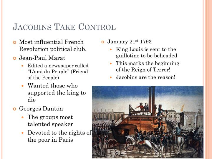 Jacobins Take Control