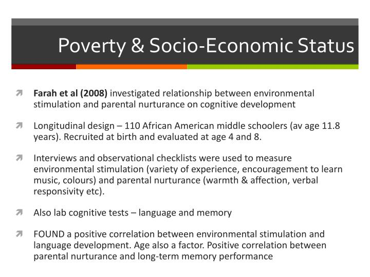 """socio economic condition and social iss Perhaps the most ambitious effort to do this is through the invention of """"socio- economic status"""", a social/economic category that asserts that."""