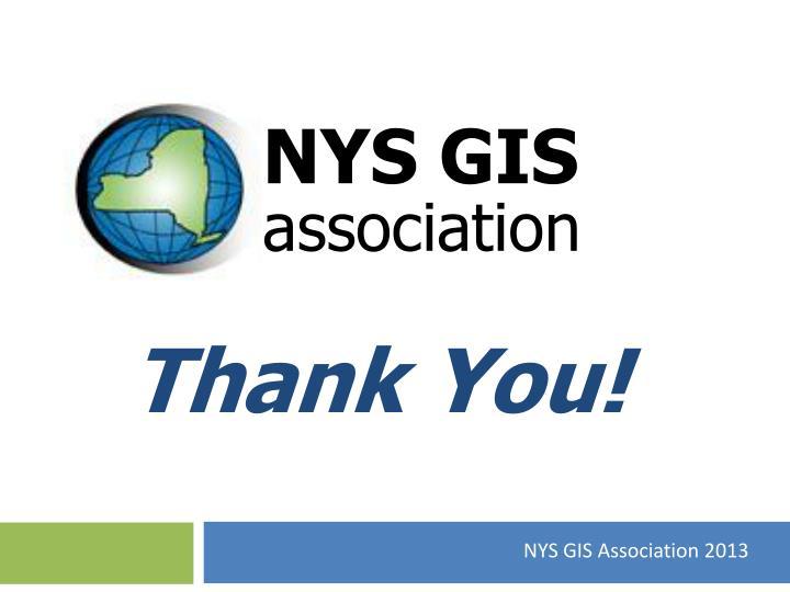 NYS GIS