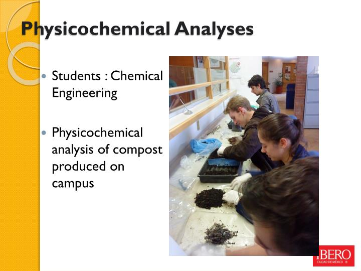Physicochemical Analyses
