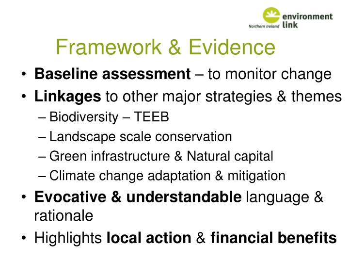England biodiversity strategy towards adaptation to climate change